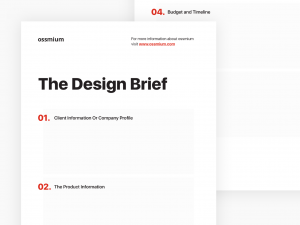 image The design brief