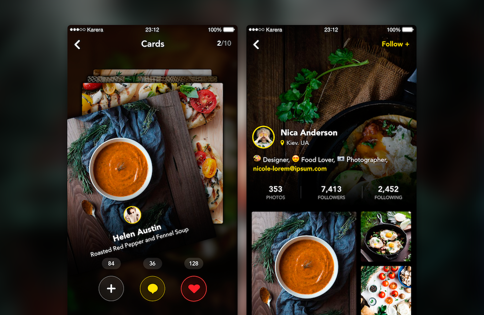 image: mobile app UI/UX designer